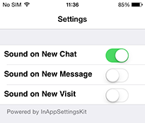 Setting up Notifications